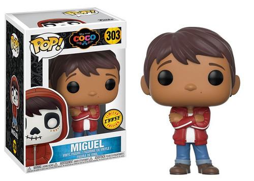 Funko Disney / Pixar Coco POP! Disney Miguel Vinyl Figure #303 [No Hoodie, Chase Version]
