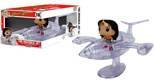 Funko DC POP! Rides Wonder Woman's Invisible Jet Vinyl Figure #16 [Damaged Package]