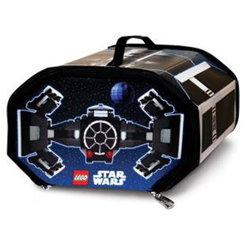 Star Wars LEGO ZipBin TIE Fighter Storage Case [Damaged Package]