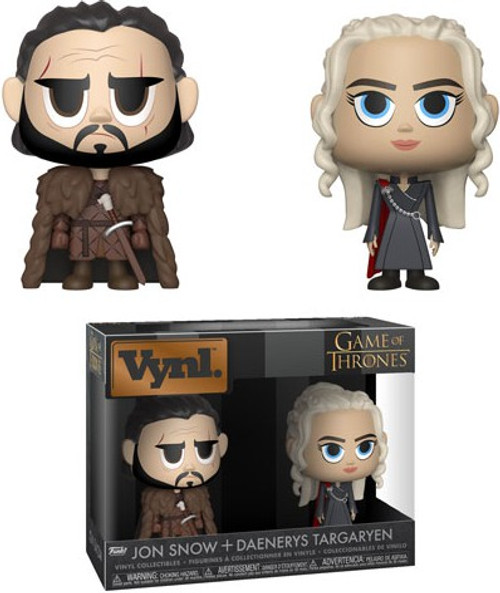 Funko Game of Thrones Vynl. Jon Snow & Daenerys Targaryen Vinyl Figure 2-Pack