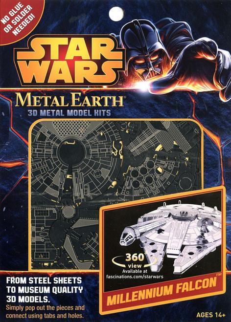 Metal Earth Star Wars Millennium Falcon 3D Metal Model Kit