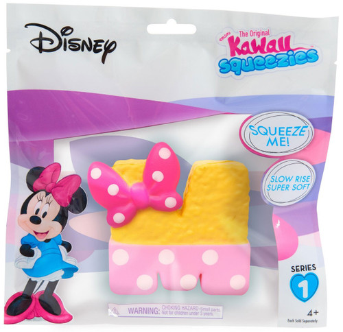 Disney The Original Kawaii Squeezies Series 1 Minnie Krispy Treat Squeeze Toy