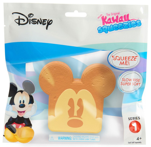 Disney The Original Kawaii Squeezies Series 1 Mickey Toast Squeeze Toy