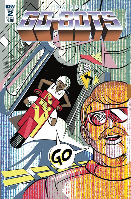 IDW Go-Bots #2 Comic Book [Shaw Variant Cover]