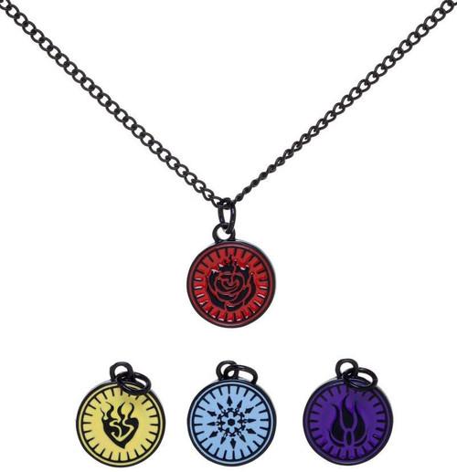 RWBY 18-Inch Multi-Charm Necklace