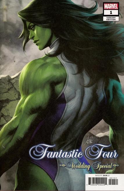 Marvel Comics Fantastic Four #1 Wedding Special Comic Book [Artgerm Variant Cover]