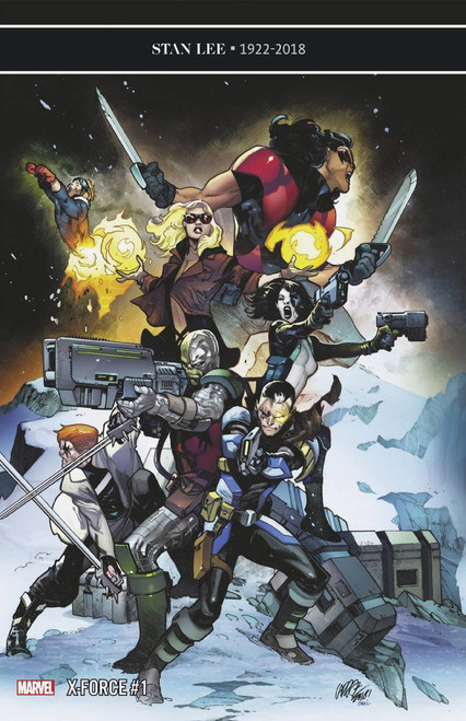 Marvel X-Force #1 Comic Book [Pepe Larraz Cover]
