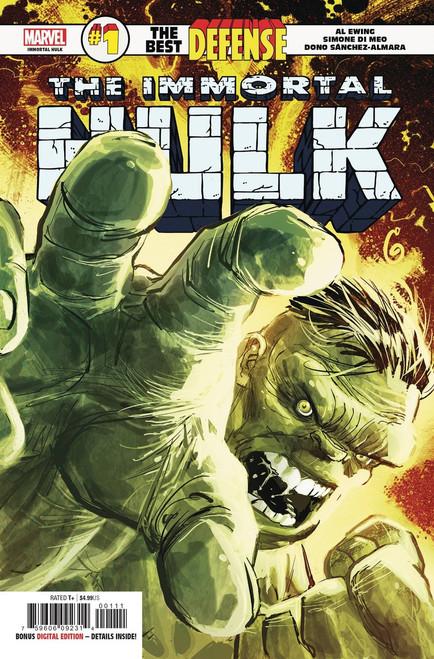 Marvel Comics Defenders: The Best Defense #1 Immortal Hulk Comic Book