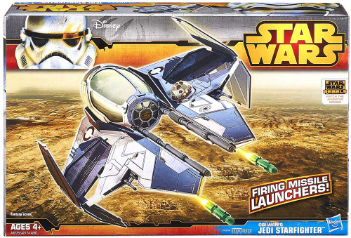 Star Wars Revenge of the Sith Class II Attack Vehicle Obi Wan's Jedi Starfighter Action Figure Vehicle