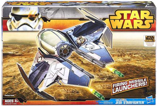 Star Wars Revenge of the Sith Class II Attack Vehicle Obi Wan's Jedi Starfighter Action Figure Vehicle
