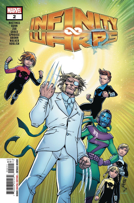 Marvel Comics Infinity Wars #2 of 2 Infinity Warps Comic Book