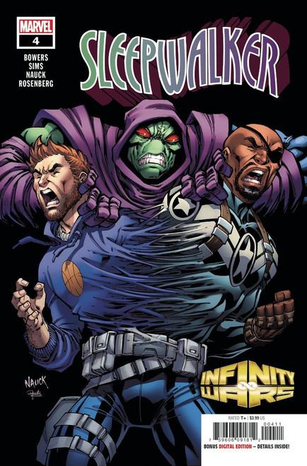 Marvel Comics Infinity Wars Sleepwalker #4 of 4 Comic Book