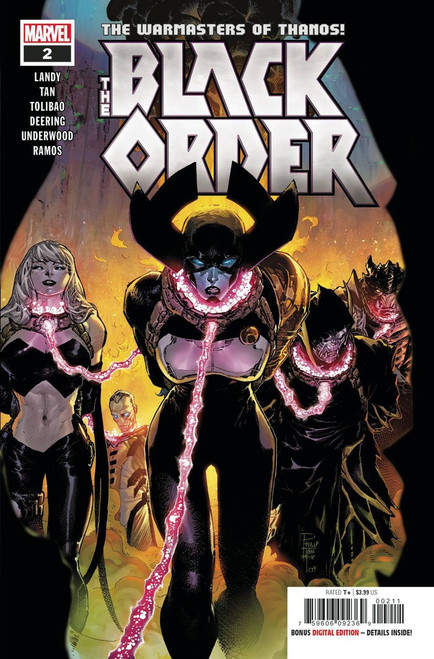 Marvel Comics Black Order #2 Comic Book