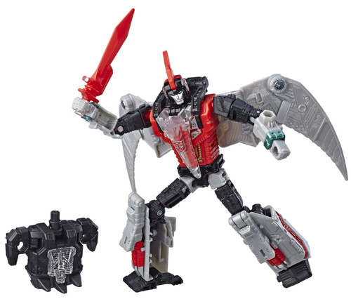 Transformers Generations Power of the Primes Red Swoop Exclusive Deluxe Action Figure