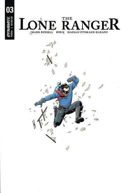 Dynamite Entertainment Lone Ranger Vol 3 #3 Comic Book [Cover A]