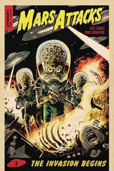 Dynamite Entertainment Mars Attacks #3 Comic Book [Francavilla Cover A]