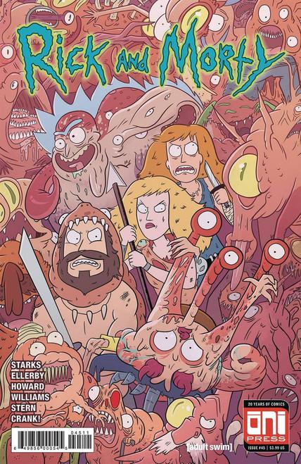 Oni Press Rick & Morty #45 Comic Book