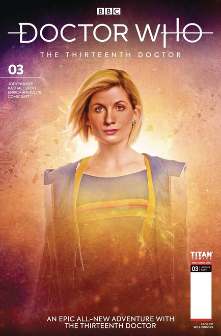 Titan Comics Doctor Who The Thirteenth Doctor #3 Comic Book [Brooks Cover B]