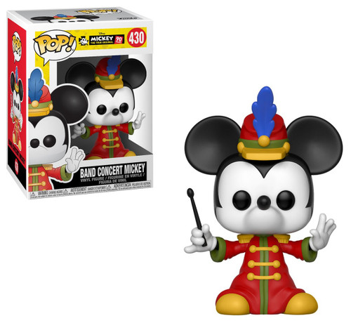 Funko Mickey's 90th POP! Disney Band Concert Mickey Vinyl Figure #430