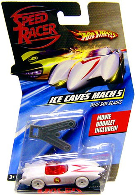Hot Wheels Speed Racer Ice Cave Mach 5 Diecast Car