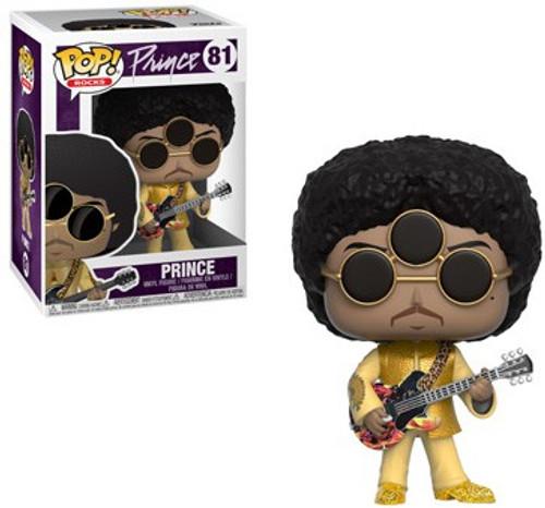 Funko POP! Rocks Prince Vinyl Figure #81 [3rd Eye Girl, Damaged Package]