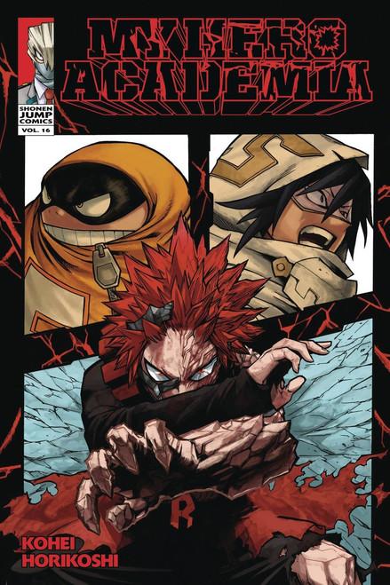 My Hero Academia Volume 16 Manga Trade Paperback