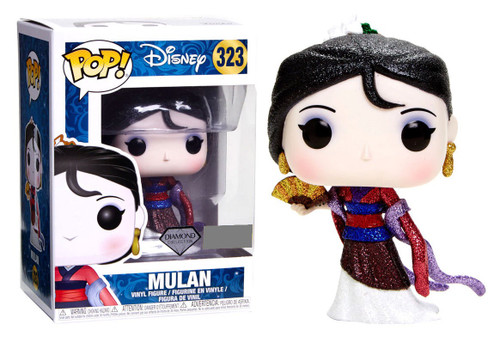 Funko POP! Disney Mulan Exclusive Vinyl Figure #323 [Diamond Collection, Damaged Package]