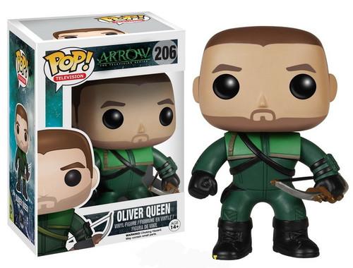 Funko DC Arrow POP! Heroes Oliver Queen Vinyl Figure #206 [Damaged Package]