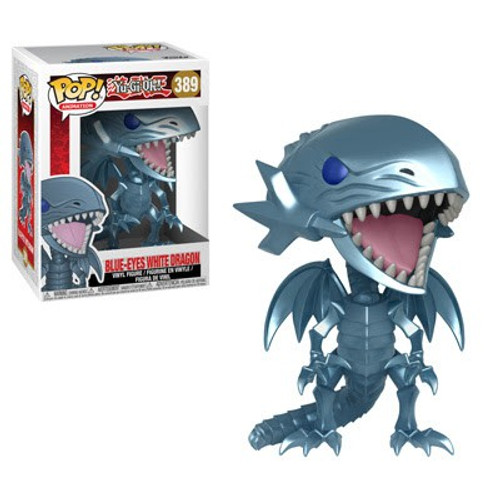 Funko YuGiOh POP! Games Blue-Eyes White Dragon Vinyl Figure #389 [Damaged Package]