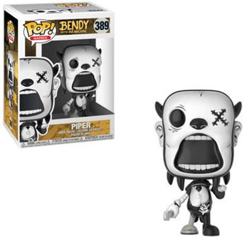 Funko Bendy and the Ink Machine POP! Games Piper Vinyl Figure #389 [Damaged Package]