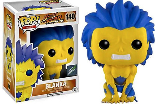 Funko Street Fighter POP! Games Blanka Exclusive Vinyl Figure #140 [Hyper, Damaged Package]