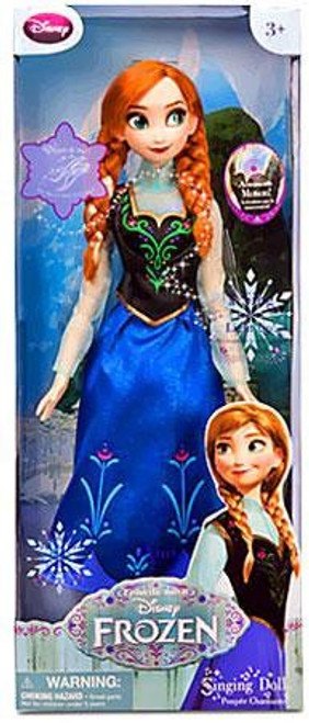 Disney Frozen Anna Exclusive 16-Inch Singing Doll [Singing, Damaged Package]