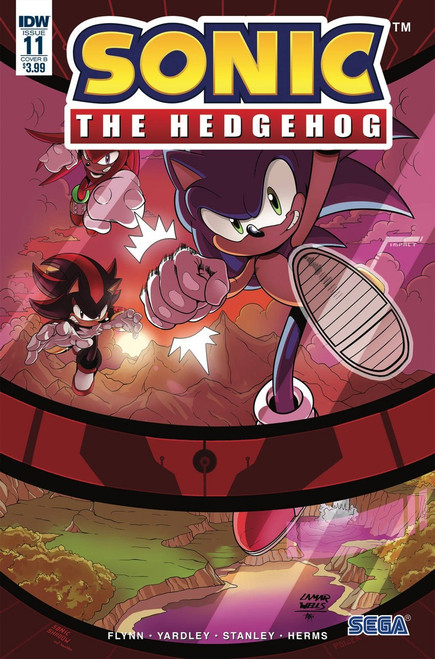 IDW Sonic The Hedgehog #11 Comic Book [Tracy Yardley Cover B Variant]