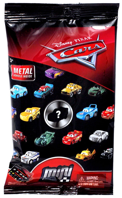 Disney Cars 3 Die Cast Mini Racers Series 2 Mystery Pack