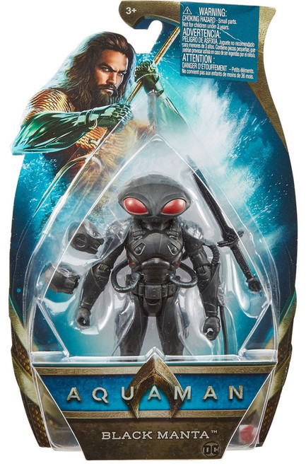 DC Aquaman Movie Basic Black Manta Action Figure