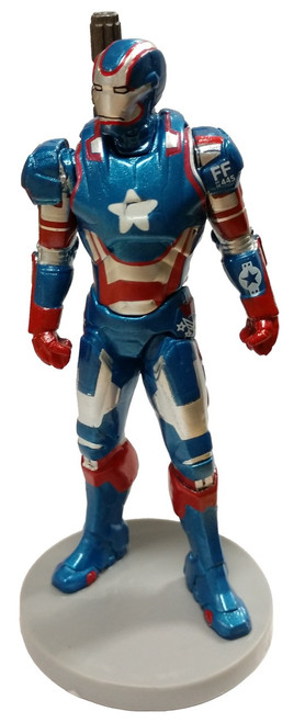 Disney Marvel Iron Patriot PVC Figure [Loose]