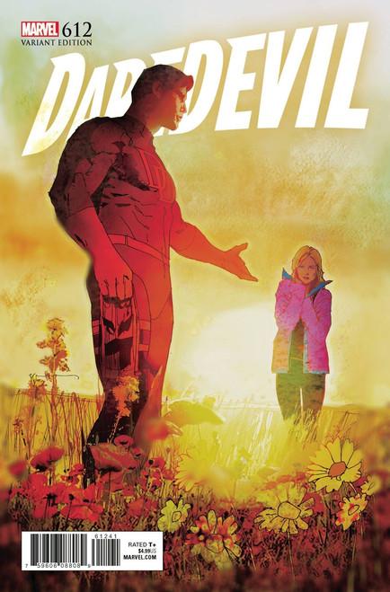 Marvel Comics Daredevil #612 Comic Book [Sienkiewicz Variant Cover]