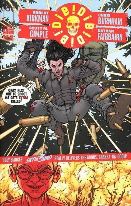 Image Comics Die Die Die #5 Comic Book