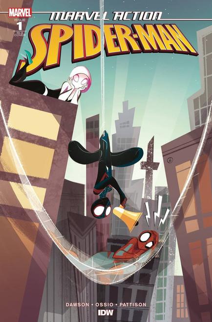 IDW Spider-Man #1 Comic Book [Baldari Variant Cover]