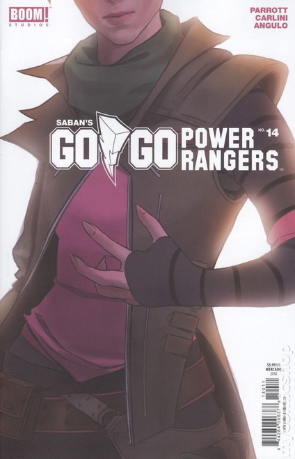 Boom Studios Go Go Power Rangers #14 Beyond The Grid Comic Book [Cover B]