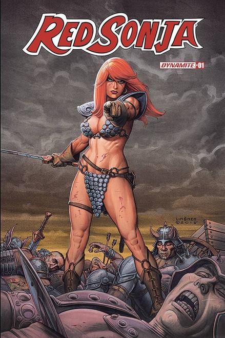 Dynamite Entertainment Red Sonja #1 Comic Book [Joseph Michael Linsner Cover B]