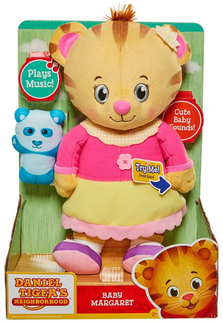 Daniel Tiger's Neighborhood Baby Margaret Exclusive 12-Inch Plush with Sound