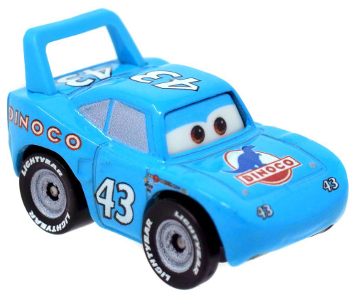 Disney Cars Die Cast Mini Racers The King Car [Loose]