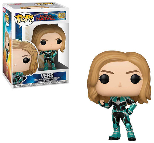 Funko Captain Marvel POP! Marvel Vers Vinyl Figure #427