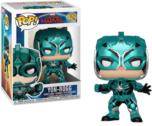 Funko Captain Marvel POP! Marvel Yon-Rogg Vinyl Figure #429
