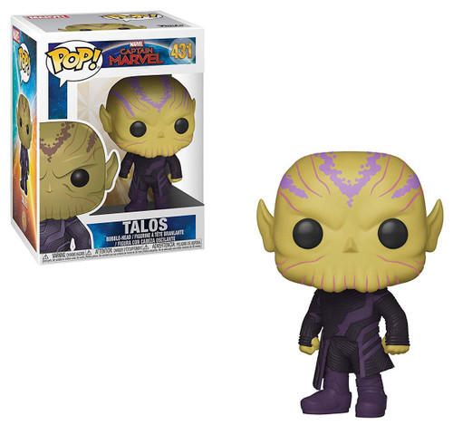 Funko Captain Marvel POP! Marvel Talos Vinyl Figure #431
