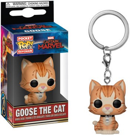 Funko Captain Marvel POP! Marvel Goose the Cat Keychain
