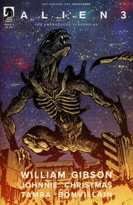 Dark Horse Alien 3 #3 Comic Book [Johnson Cover B]
