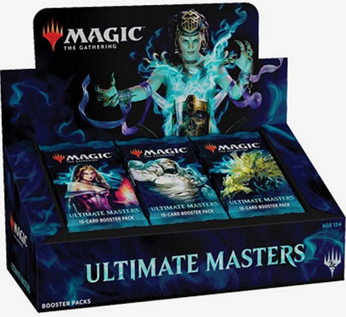 MtG Trading Card Game Ultimate Masters Booster Box [24 Packs, 1 Ultimate Box Topper!]