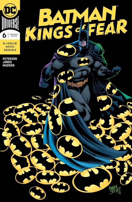 DC Batman Kings of Fear #6 of 6 Comic Book